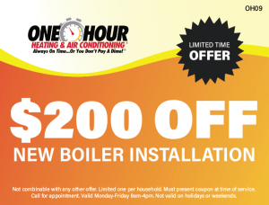 $200 Off New Boiler Installation