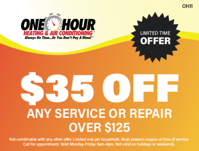 $35 Off Any Service Or Repair Over $125